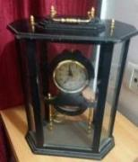 Antique Table Clock With Pendulum Available