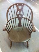 Very Gently Used Antique Chair In Great Condition
