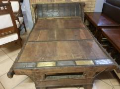 Antique Double Bed In Less Used Condition