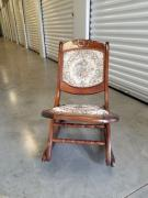 Antique Chair In Solid Wooden Design