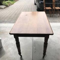 Solid Wooden Antique Table In Rarely Used Condition Available