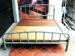 Antique Solid Wooden Bed Available