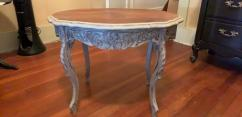 Antique Table In Solid Wooden Design