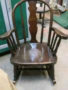 Antique Chair In Solid Wooden Condition