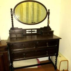 Dressing Table In Antique vintage Style