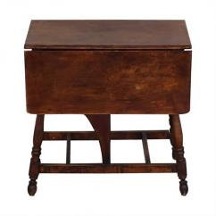 Antique solid wooden table