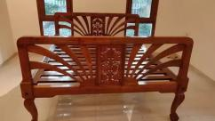 Rare antique beautiful Teak Wood Bed