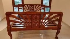 Rare antique beautiful Teak Wood Bed