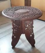 Wooden crafted table