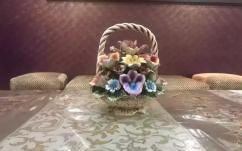 Antique French Flower showpiece
