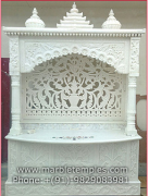 superior quality carved marble temple in Jaipur