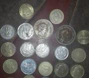 Collections Of Old Coins
