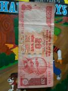 20 rupee note with 786758 series for sale.