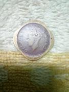 square copper coin