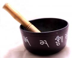 Tibetan Singing Bowl Buddhist Meditation Musical Instrument