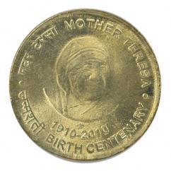 Buy Mother Teresa Birth Centenary Commemorative Coin