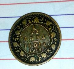 102 years old british indian coin