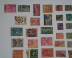 Foreign and Indian postage stamps