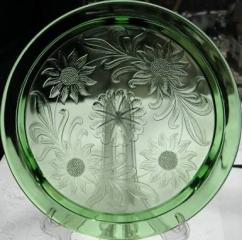 Antique Glass Plate Available