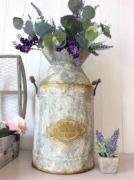 Copper antique flower pot