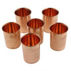 Copper Utensils Glass Set