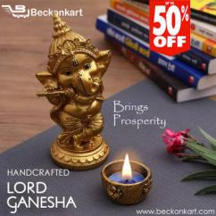 Handcrafted Lord Ganesha Idols for home decor