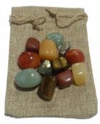 Abundance Healing Crystal bag for prosperity