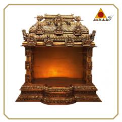 Vishnu Pooja Mandir for Luxury Home