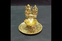 Ganesh Lakshmi Hand Deepak