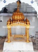Palki Sahib for Gurdwara Sahib and Mandir