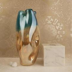 Colorful collection of flower vase