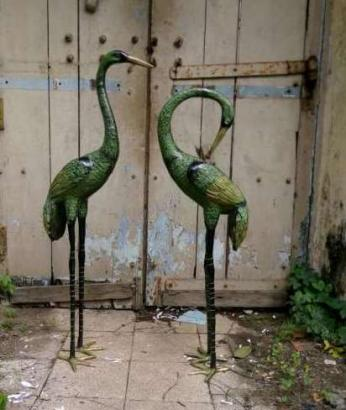 Old bronze Bird Set for sale
