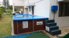 binz&boris 3 in 1 ready made swimming pool