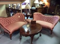 Sofa Set With Center Table In Antique Design