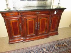 Solid Antique Wooden Furniture In Excellent Condition