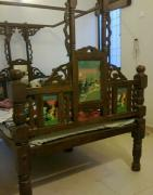 Antique Double Bed In Good Condition