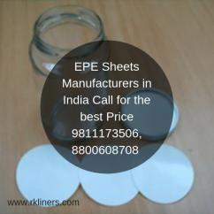 EPE Sheets Manufacturers and Supplier in India Call for the best Price