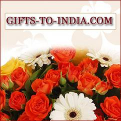 Send delightful cakes along with beautiful flowers as gifts to your loved ones