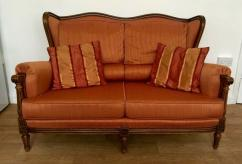 Antique Sofa Set In Fantastic Condition Available
