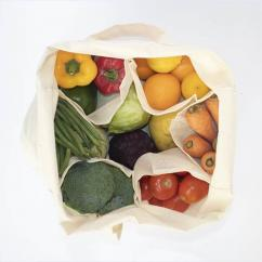 Vegetable Carry Bag with Pockets, Compartments
