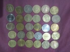 ALL OF MY  5 Rs Indian rare coins(30 coins)