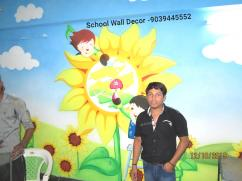 Nursery School Wall Painting Artist in Udaipur