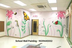 Nursery School Wall Painting Artist in Hyderabad,School Cartoon Art in Hyderabad