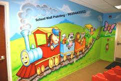 School Wall Painting in Pune ,Wall Designs for Primary School Pune