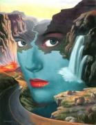 Nature Painting in Super Fantastic Design