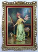 Very Beautiful Antique Painting Available