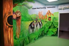School Wall Painting Artist in Mumbai,School Interior Decoration Mumbai