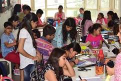 drawing classes by raghuvansham in rohini sector 5
