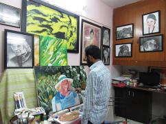 Best Pencil Sketch Portrait Artist In Delhi