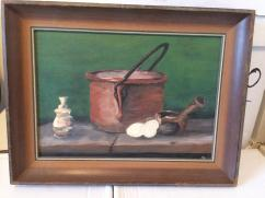 Very Lovely Vintage Oil Painting Available